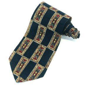 Oscar de la Renta 100% Silk Vintage Men's Necktie